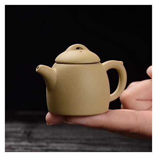 Demoyu 1 unids púrpura Arcilla Dedo Tetera té Mascota pequeño Bolsillo Conjunto de té Adornos Accesorios de té Boutique Mesa de té decoración (Color : Dark Grey)