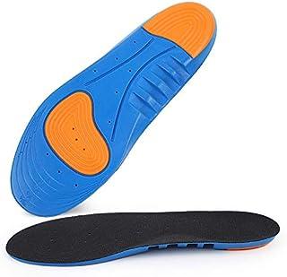 00123 ブルーボールインソール/吸汗衝撃吸収/バスケットボールフットボールランニングミリタリートレーニングインソール 00999 (Color : Blue, Size : M)