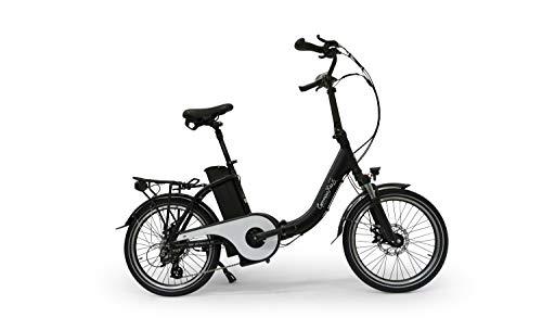 GermanXia® E-Bike Klapprad Mobilemaster E-Faltrad TOURING CH-15,6 7G Shimano 20 Zoll mit Drehmomentsensor, eTurbo 250 Watt HR-Antrieb, bis zu 180 km Reichweite nach StVZO