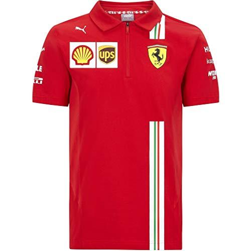Official Formula One - Scuderia Ferrari 2020 Puma - Polo de Equipo para niño - Size:128