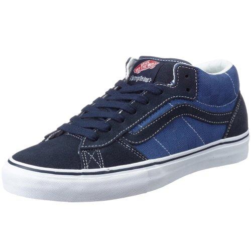 Vans M LA CRIPTA DOS MID VF4B3TB, Herren Sneaker, blau, ((check jaquard)), EU 38.5, (US 6.5), (UK 5.5)
