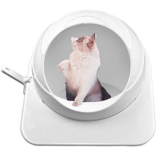 UNIIKE Katzentoilette Große Klokiste Katzentoilette Open Design Moderate Kapazität sichere und zuverlässige Moderate Kapazität leicht zu bedienen