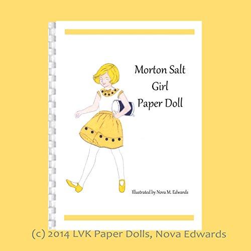 Morton Salt Girl Paper Doll by Nova M. Edwards -  LVK Paper Dolls