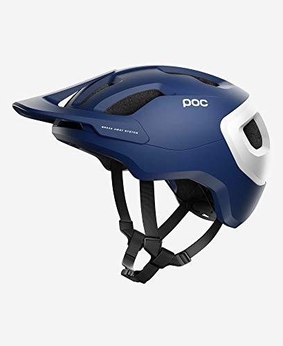 POC, Axion Spin Mountain Bike Helmet for Trail and Enduro, Lead Blue Matt, X-Large/XX-Large