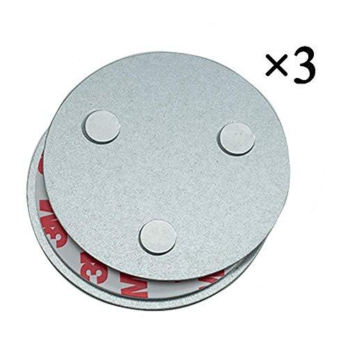 Hmtool Magnetbefestigung Rauchmelder,Magnet Befestigung für Rauchwarnmelder,DREI Magneten Sorgen...