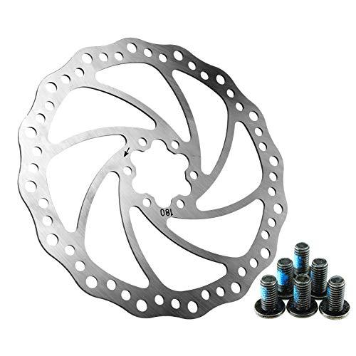 D2D Rotores de Freno de Disco para Bicicleta (180 mm)