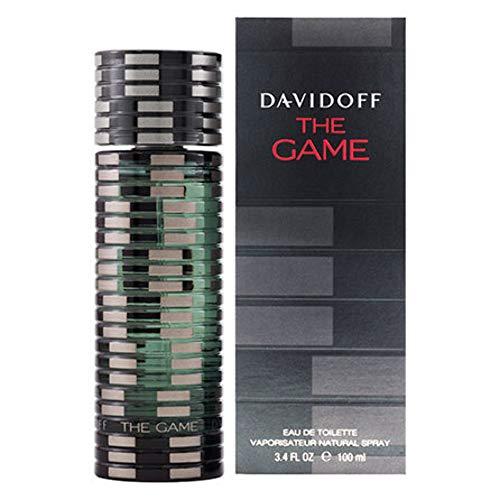 DAVIDOFF The Game for Him Eau de Toilette, holzig-aromatischer Herrenduft, 100 ml