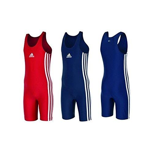 Adidas trainingspak voor kinderen, blauw en rood