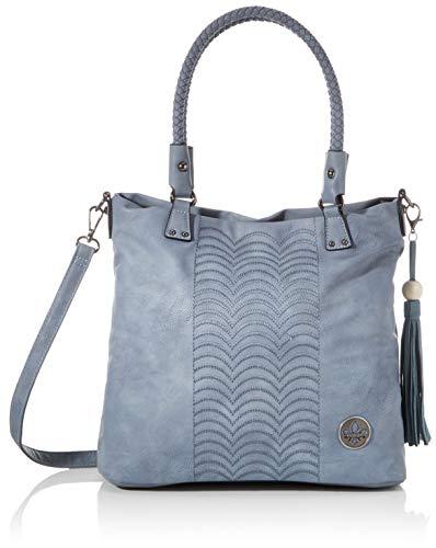 Rieker Damen Handtasche H1366, Blau (Adria), 300x120x360 cm