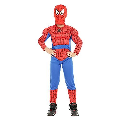 QWG Disfraz de Halloween Muscle Holiday Dress Up Fiesta temtica Disfraz de Cosplay para nios