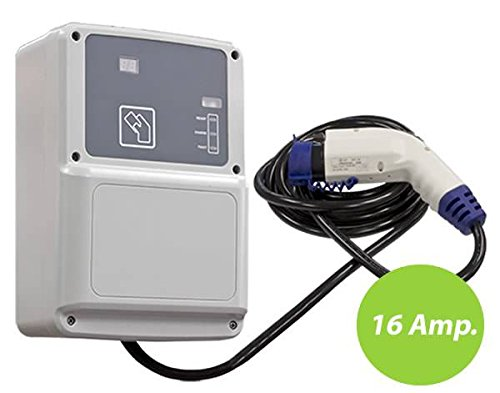 Wallbox Modo 3 con cavo SAE J1772 (3,7 kW)