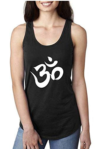 Activewear Running Workouts Clothes Yoga Racerback Tank Tops Women (S, Black OM)