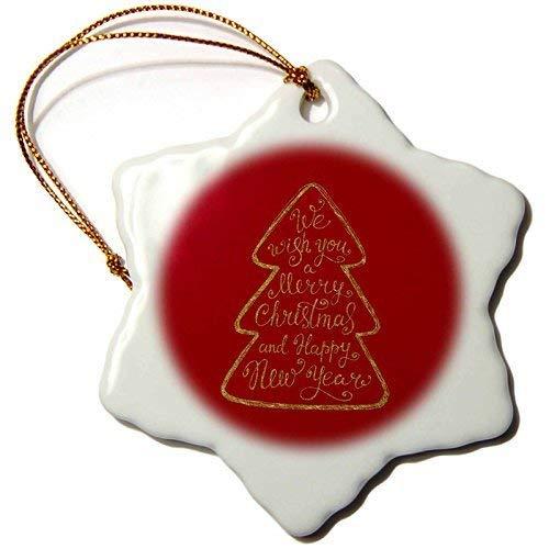GFGKKGJFF - Adorno navideño para árbol de Navidad, diseño de Merry X-Mas,...