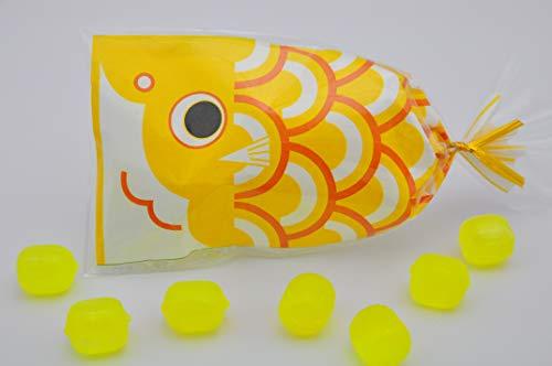プチ京鯉のぼり 1ケース 50袋入り 黄(レモン)