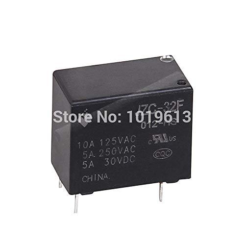 ElectronicNova 20x DC 12V PCB Power Relay JZC-32F-1H 10a Relay