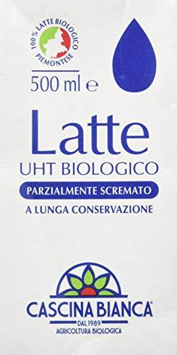 Cascina bianca Latte Uht Parzialmente Scremato - 500 ml