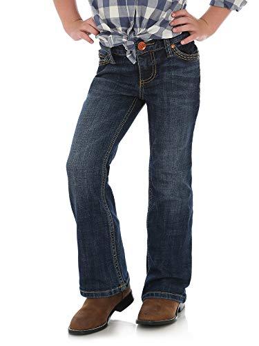 Wrangler Girls' Big Retro Stretch Boot Cut Jeans, Denver, 10 REG