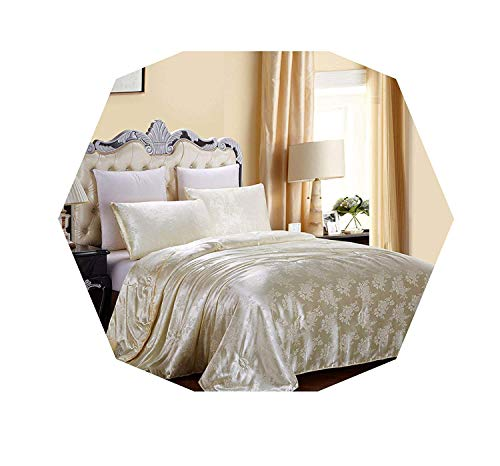 Review Of 2020 Natural/Mulberry Silk Comforter King Queen Twin Size Summer & Winter Duvet/Blanket/Qu...