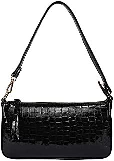 LX® Small Shoulder Bags for Women Mini Handbags with Croc Pattern
