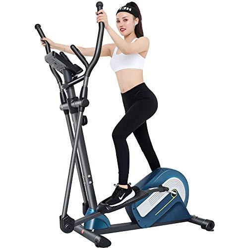 Bicicleta estática Máquina elíptica Entrenador cruzado Bicicleta estática Fitness Equipo de gimnasio en casa Para fitness en casa Para el hogar Cardio Fitness Workout Gym (Color: Negro, Tamaño: Tama