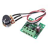 スピードコントローラ 低電圧DC 1.8V〜15V 2AミニPWMモータ速度コントローラレギュレータ制御モジュール