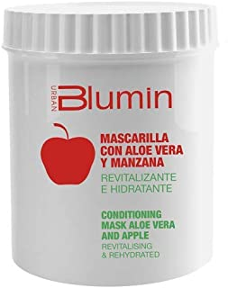 Blumin Mascarilla de Pelo/Mascarilla para el Cabello de Aloe Vera y Manzana 700 ml