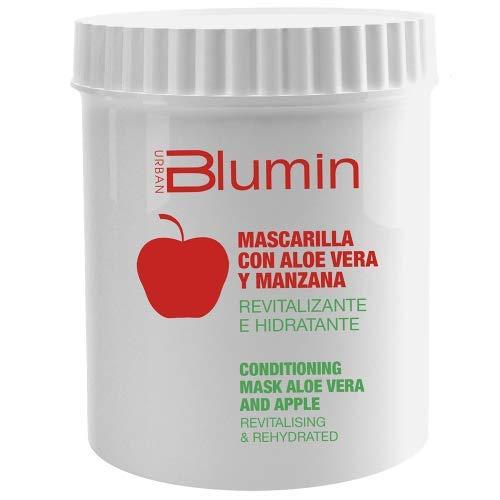 Blumin Mascarilla de Pelo/Mascarilla para el Cabello de Aloe Vera y Manzana, 700 ml