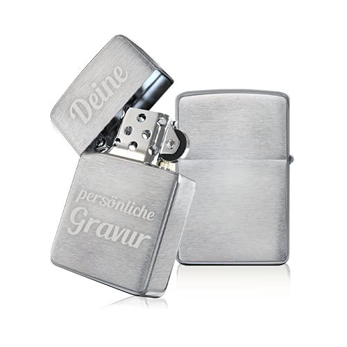 Personalisierte Geschenke Männer - 𝗭𝗶𝗽𝗽𝗼 mit Gravur - Bester Freund Geschenk - persönliche Geschenke / persönliche Geschenke Partner