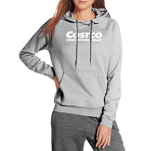 Women Sweatshirt Double-Lined Winter Warm Sweatshirt with Pocket for Women