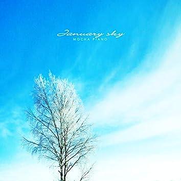 1월 하늘