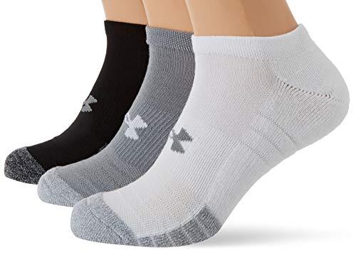 Under Armour Unisex UA Heatgear NS atmungsaktive Füßlinge im 3er-Pack, Sportsocken mit dynamischem Halt und Flexibilität