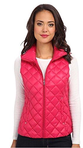 Ralph Lauren - Chaleco de plumas acolchado, color rosa