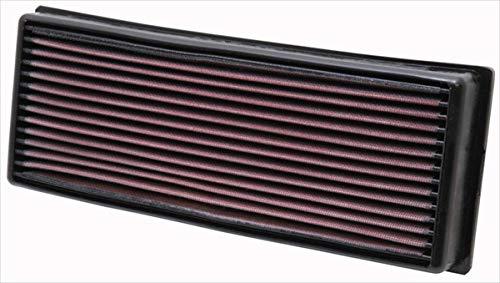 K&N 33-2001 Motorluftfilter: Hochleistung, Prämie, Abwaschbar, Ersatzfilter, Erhöhte Leistung, 1968-1997 (Cabriolet, 80, 90, 100, 4000, S2, Caddy I, Jetta, Golf, Passat, Quantum)