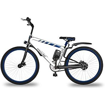 Itekk Smart, E-Bike Unisex – Adulto, Blu, M