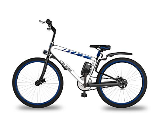 Itekk Smart, E-Bike Unisex – Adulto, Blu, M