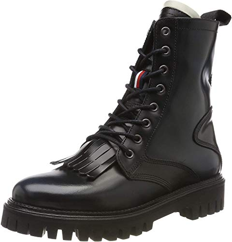 Tommy Hilfiger Iconic Polished Boot enkellaarzen voor dames