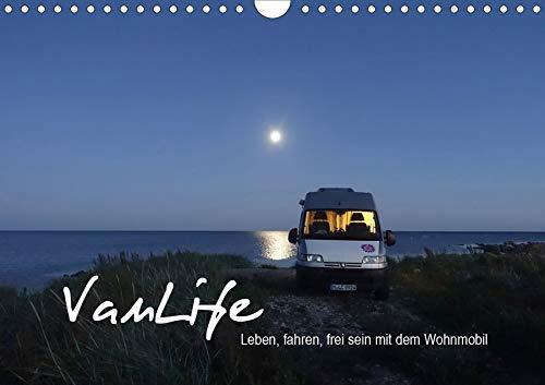 Vanlife - Leben, fahren, frei sein mit dem Wohnmobil (Wandkalender 2020 DIN A4 quer): Camping im Van - schön und frei (Monatskalender, 14 Seiten ) (CALVENDO Natur)