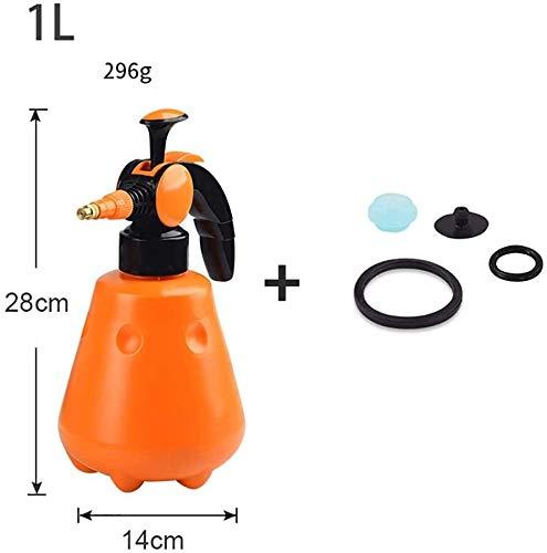 XYIDAI Pulverizador, Portable Ajustable la presión de Mano Atomizador Desinfección química de la Planta de riego del jardín del Agua Botella del Aerosol portátil (Color : 1L)