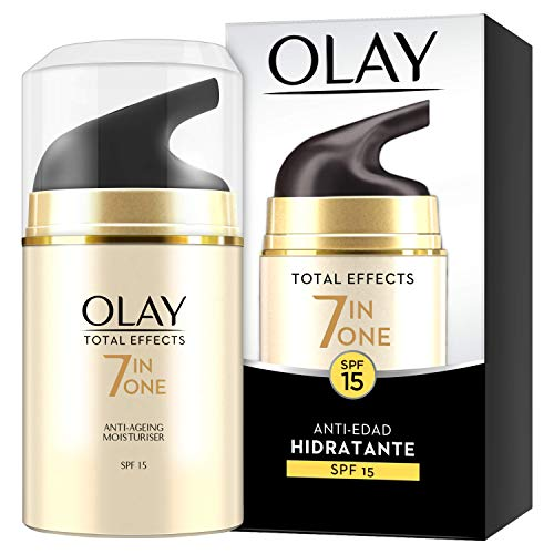 Olay Total Effects 7en1 Hidratante Anti-Edad De Día SPF 15