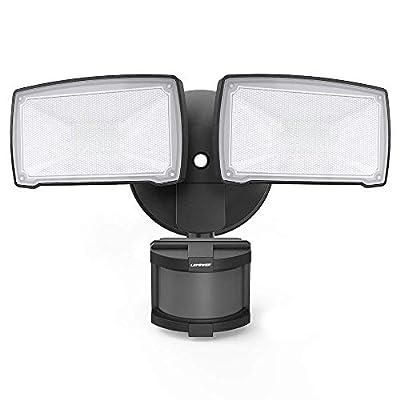 LEPOWER 3500LM LED Security Light, 39W Super Bright Outdoor Motion Sensor Light