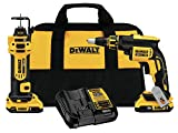 DEWALT 20V MAX XR Drywall Screw Gun & Cut-out Tool Combo Kit (DCK263D2)