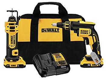 DEWALT 20V MAX XR Drywall Screw Gun & Cut-out Tool Combo Kit  DCK263D2