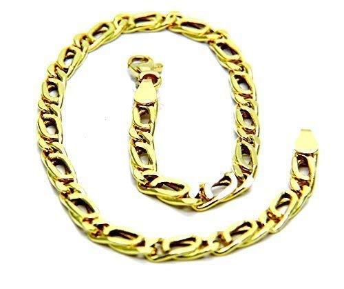 Bracciale Oro Giallo 18kt (750) Maglia Pernice Classico Uomo