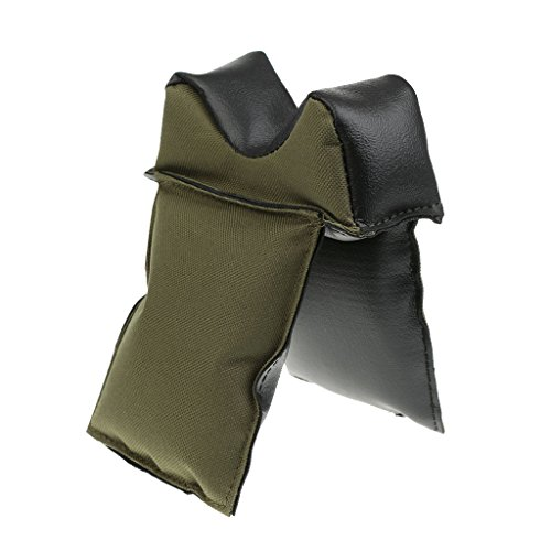 MagiDeal Tragbar und rutschfest gefüllte Waffen Auflage Gewehrauflage Waffenauflage, Gute Verarbeitung und Stabil, für Jagd Sport