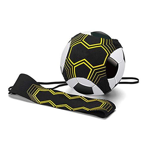 Ritte Fútbol Trainer, Equipo De Entrenamiento De Fútbol Manos Libres Práctica con Cinturón Cuerda Elástica Trainer Banda Elástica para Entrenamiento De Fútbol Entrenamiento De Habilidades