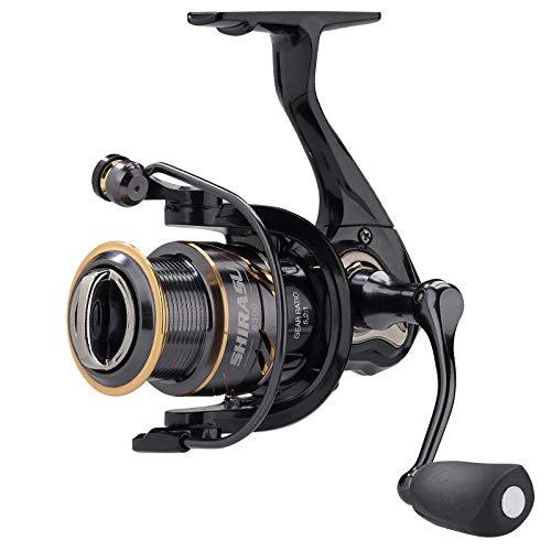 Balzer Shirasu 8250 - Angelrolle zum Forellenangeln & Barschangeln, Ultra Light Spinnrolle, Stationärrolle zum Spinnfischen
