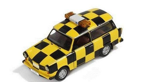"IST Modelle Maßstab 1: 43\""Trabant P601S Follow Me Leipzig Altenburg Aport Modell Auto"