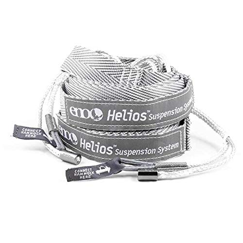 """ENO, Eagles Nest Outfitters Helios Ultralight Hammock Straps Suspension System with Storage Bag, 300 LB Capacity, 8' 1"""" x 1"""""""