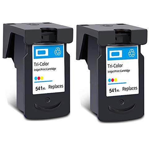 Cartucho de tinta PG-540XL CL-541XL, repuesto de alto rendimiento para impresora Canon Pixma MG2250 MG3150 MX375 MX395 MX515 TS5150 TS5151 negro y tricolor 2 tricolor