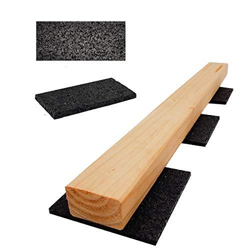 Lot de 100 patins de terrasse en granulés de...
